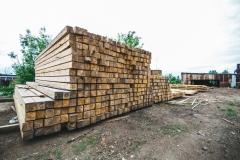 Производство бруса под строительство дома из бруса 1