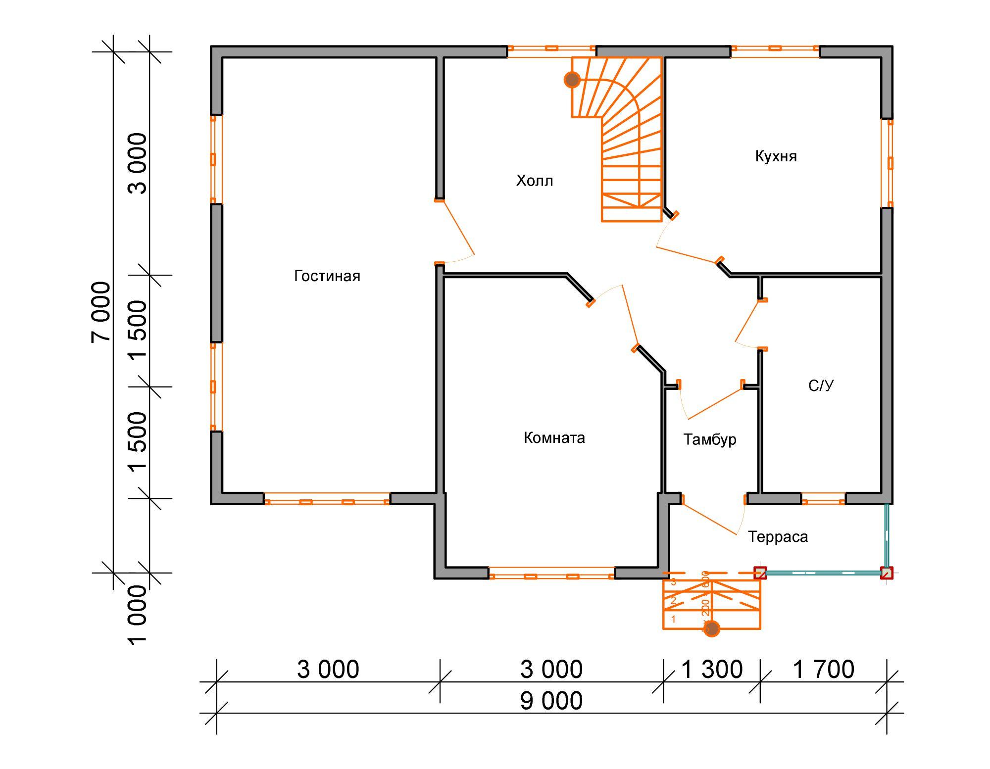 Деревянные одноэтажные дома из бруса  цены  Брусовые