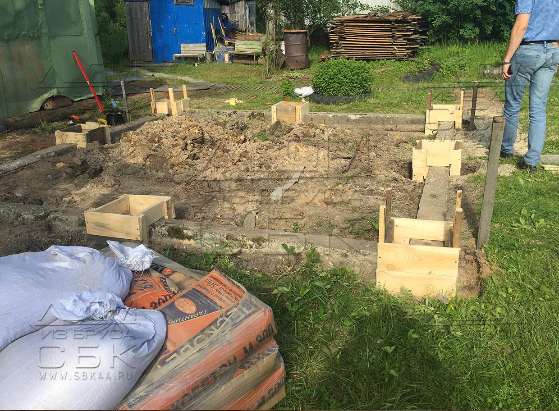 Фундамент для дачного дома: технология строительства 19