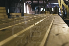 Производство профилированного бруса для строительства деревянного дома 6
