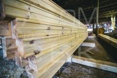 Производство профилированного бруса для строительства деревянного дома 2
