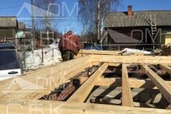 Русские бригады строительной компании Дом из бруса СБК 1