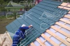Русские бригады строительной компании Дом из бруса СБК 3