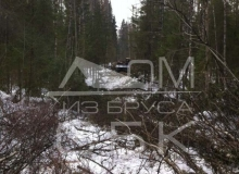 Заготовка костромского зимнего леса