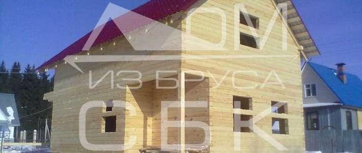 Дом из бруса 5Х4