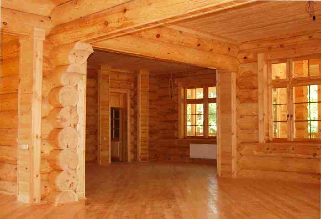 Недорогие дома из бруса под ключ - варианты отделки