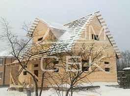 Дом из профилированного бруса 6х9Дом из профилированного бруса 6х9