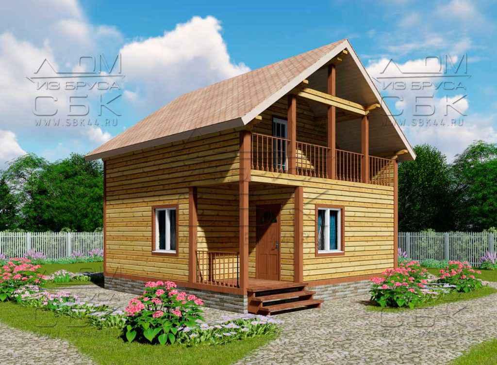 Гостевой дом с баней «Брусово» - фасад - 1