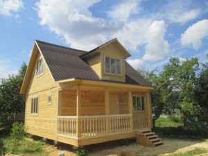 недорогие дома под ключ