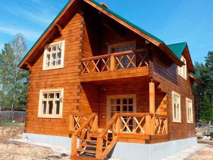 Сколько может прослужить дом из бруса