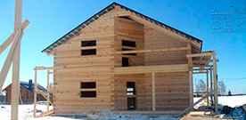 Грамотная консервация домов из бруса на зиму