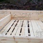 Строительство дома из профилированного бруса - внутренние перегородки