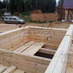 Строительство дома из профилированного бруса - стыки бруса
