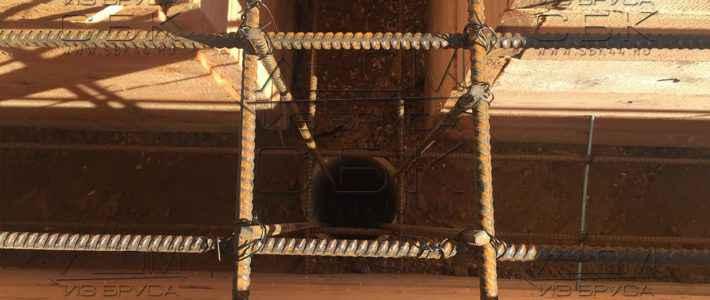 Опалубка под свайно-ростверковый фундамент для дома из бруса 6 на 4 (часть 3)