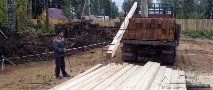 Профилированный брус 195 х 145 (200 х 150) для строительства деревянного дома (часть 10)