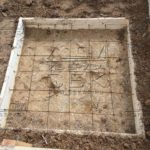 Свайно-ростверковый фундамент под дом из профилированного бруса – фундамент - плита под печь