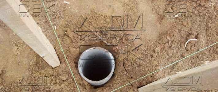 Свайно-ростверковый ленточный фундамент – азбестоцементные трубы под буронабивные сваи (часть 2)
