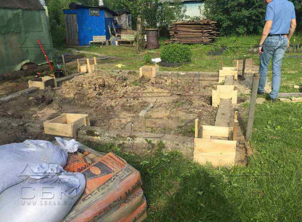 Садовый домик без фундамента своими руками 26