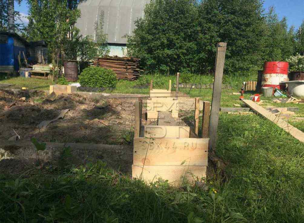 Фундамент для дачного дома: технология строительства 53