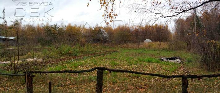 Участок под строительство дома из бруса в Костроме (ч. 1)