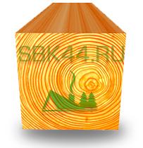 Обрезной брус от производителя по низким ценам из Костромы