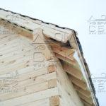 Дом 6 х 9 из профилированного бруса - брусовые фронтоны
