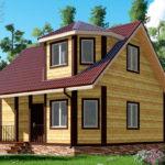 Обложка проекта дома из бруса 7 х 8 «Борисово»