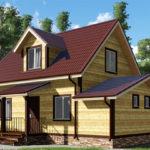 Обложка проекта дома из бруса 6 х 10 «Акишево»