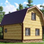 Проект дома 6x8 Абрамцево