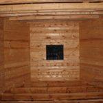 Комната с эркером - Дом из профилированного бруса 195х145 с эркером Чернопенье