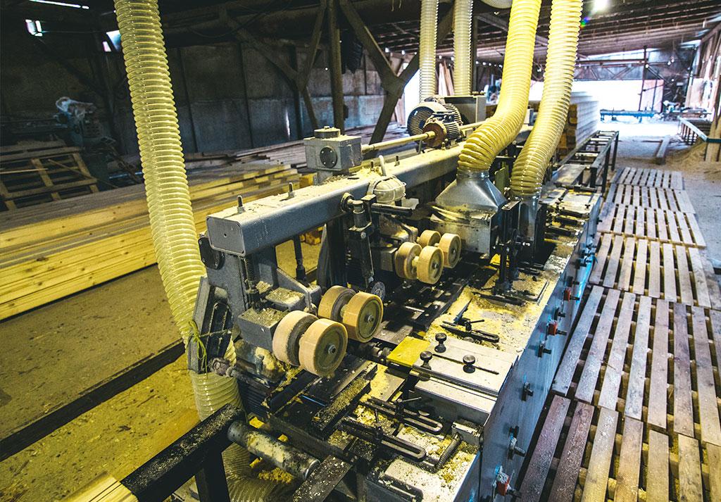Производство профилированного бруса сбк 44