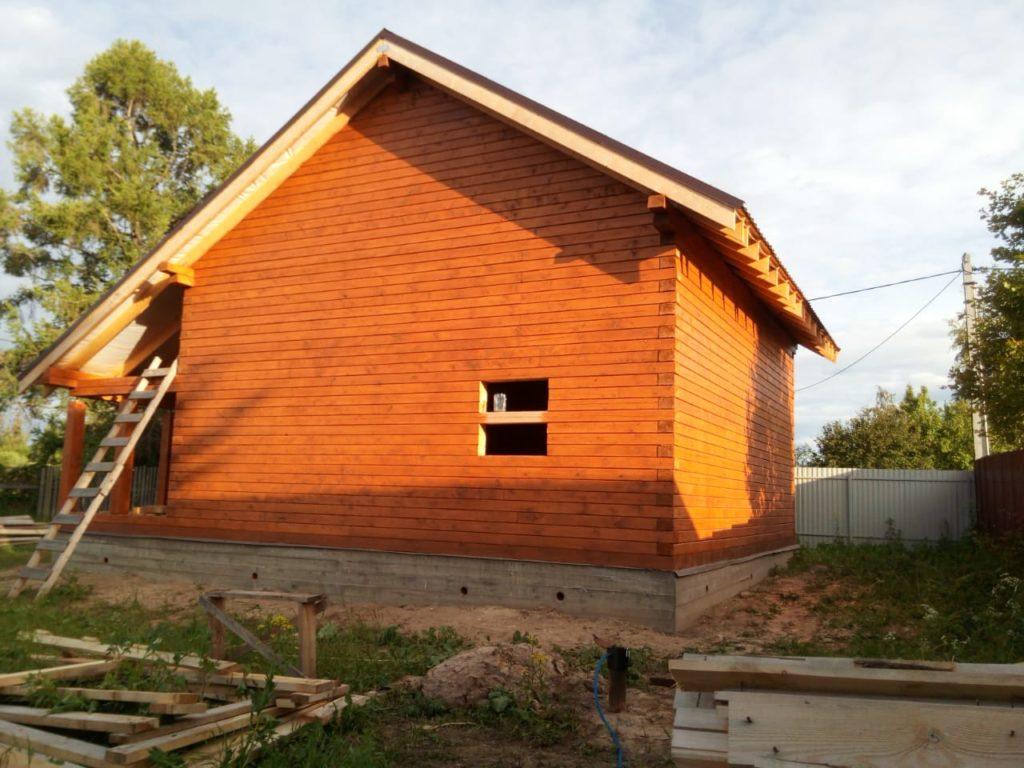 Как правильно подобрать краску для деревянного дома из бруса (8)
