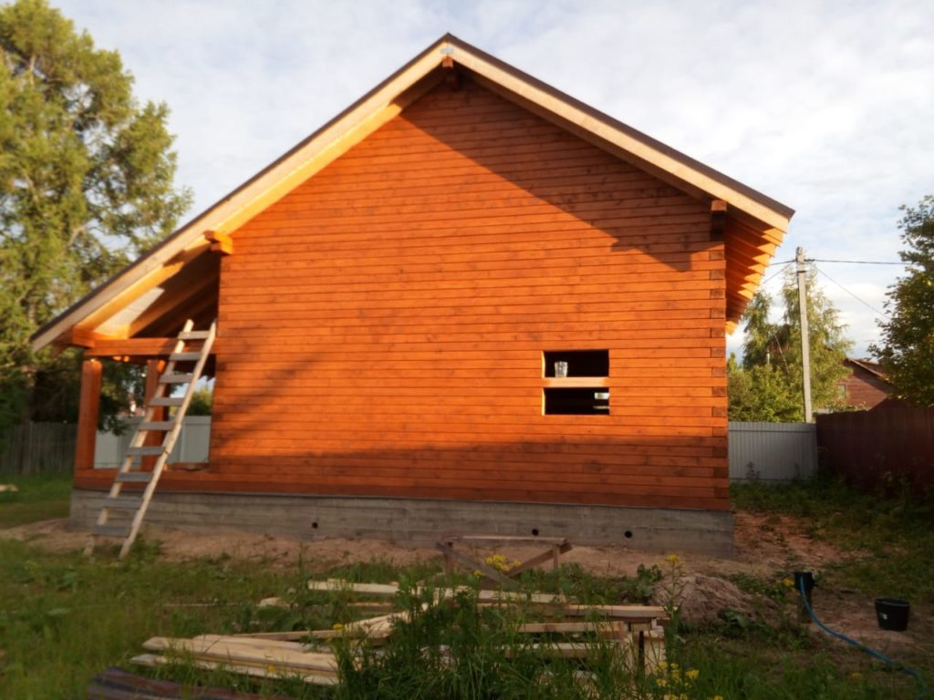Как правильно подобрать краску для деревянного дома из бруса (9)
