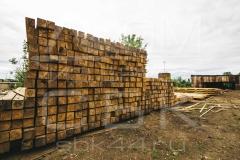 Производство бруса под строительство дома из бруса 2
