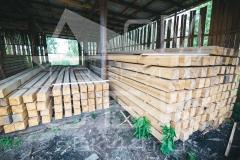 Производство бруса под строительство дома из бруса