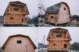 Дом 6 на 4 из профилированного бруса с балконом и террасой (1)