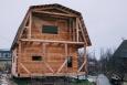 Дом 6 на 4 из профилированного бруса с балконом и террасой (2)