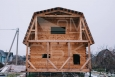 Дом 6 на 4 из профилированного бруса с балконом и террасой (3)