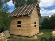 Недорогой дачный-дом из бруса 4 на 4 - 17
