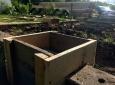 Столбчатый фундамент-под недорогой дачный-дом из бруса 4 на 4 - 1