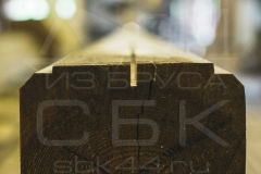 Производство профилированного бруса для строительства деревянного дома 8