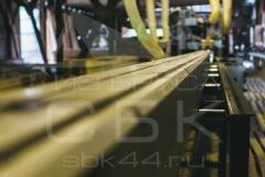 Производство профилированного бруса для строительства деревянного дома 7
