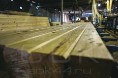 Производство профилированного бруса для строительства деревянного дома 5