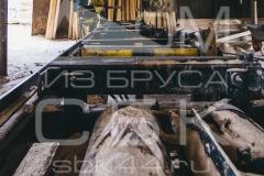 Производство профилированного бруса - цех по распиловке пиломатериала 3