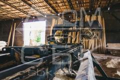 Производство профилированного бруса - цех по распиловке пиломатериала 1