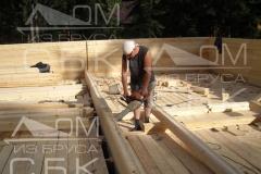 Русские бригады строительной компании Дом из бруса СБК