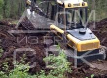 Заготовка костромского леса (харвестер застрял 2)