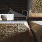 Фото профилированного бруса в разрезе (производство)