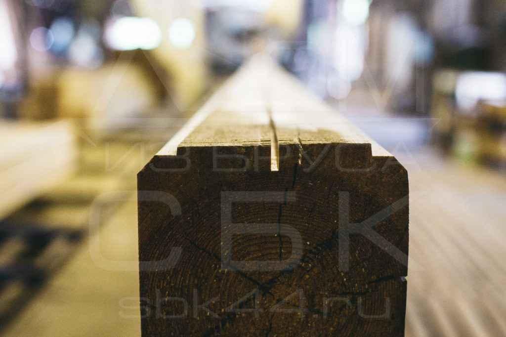 фото производства профилированного бруса