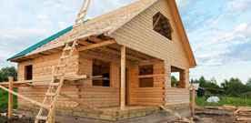 Что следует учитывать при строительстве дома из бруса